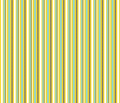 Punctuation Stripe fabric by kellicrockett on Spoonflower - custom fabric