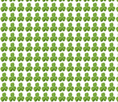 Little Shamrock fabric by nezumiworld on Spoonflower - custom fabric