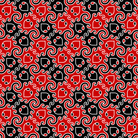 decapod 2-colour (ve) fabric by sef on Spoonflower - custom fabric