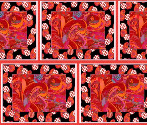 Paisley Blocks fabric by kaerushisho on Spoonflower - custom fabric