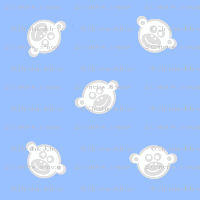 monkey faces cloud