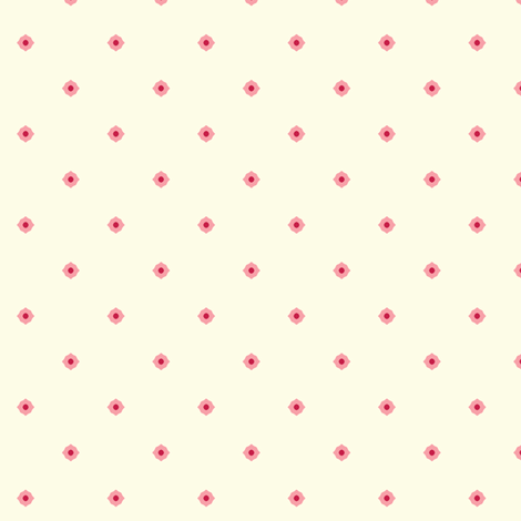 Dot Floral - Victorian Rose fabric by inscribed_here on Spoonflower - custom fabric