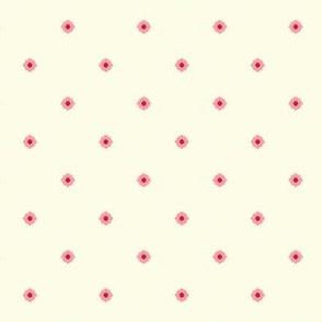 Dot Floral - Victorian Rose