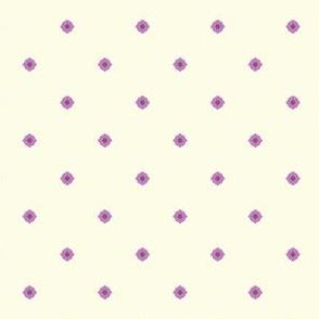 Dot Floral - Victorian Violet