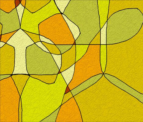 Earthy_Geometrics 2 fabric by art2art on Spoonflower - custom fabric