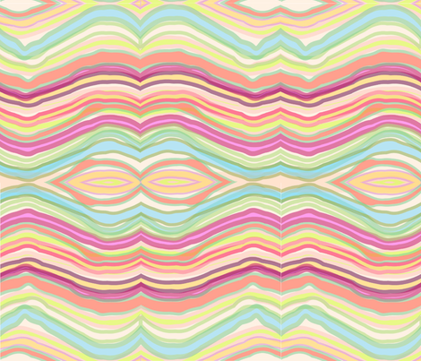 AGATE WATERCOLOR fabric by trcreative on Spoonflower - custom fabric