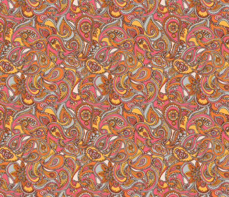 spring_paisley fabric by valentinaharper on Spoonflower - custom fabric