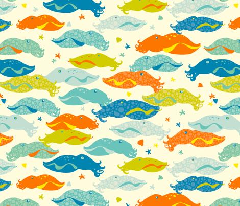 Cutie Cuttles fabric by abby_zweifel on Spoonflower - custom fabric