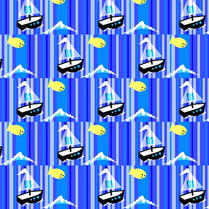 monkey island / boat stripe