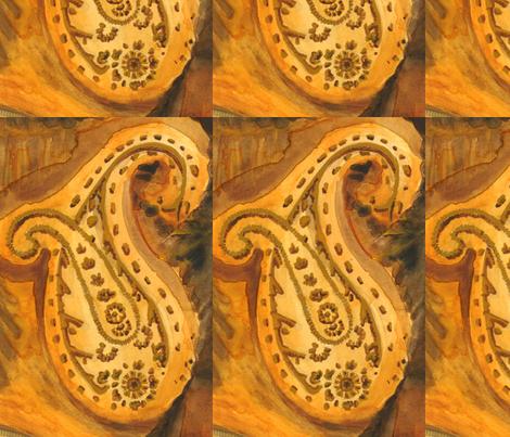 Repeat Paisley  fabric by hanredden on Spoonflower - custom fabric