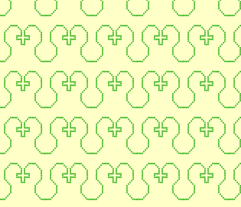 Greenwork fabric by weaver_phoenyx_aka_birdy on Spoonflower - custom fabric