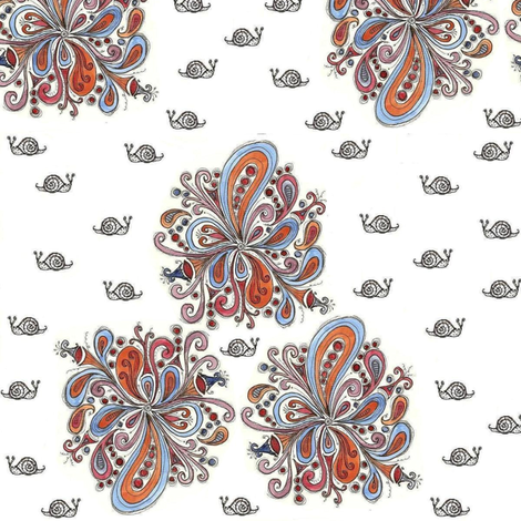 crazy snail paisley fabric by ndesigns on Spoonflower - custom fabric