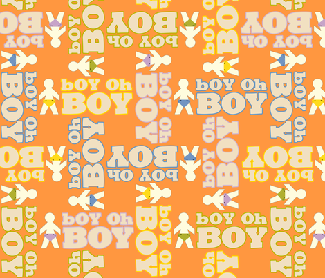 BohOhBoyOhBoy fabric by tammikins on Spoonflower - custom fabric
