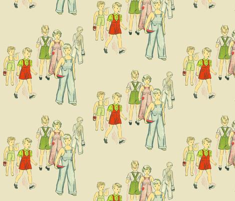 Ghost Child fabric by nalo_hopkinson on Spoonflower - custom fabric