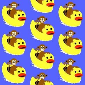 monkey ducky