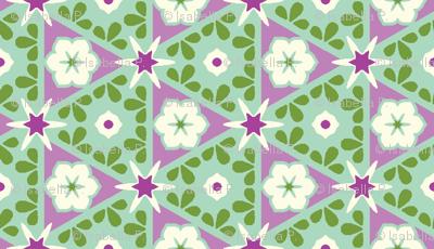 Pyramid Floral - Victorian Violet