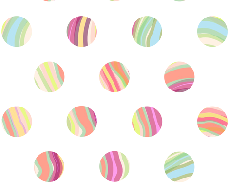 WATERCOLOR CIRCLES fabric by trcreative on Spoonflower - custom fabric