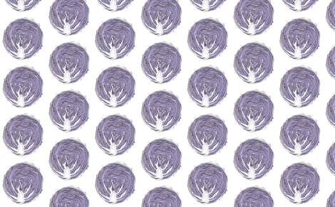 Red Cabbage fabric by woodledoo on Spoonflower - custom fabric