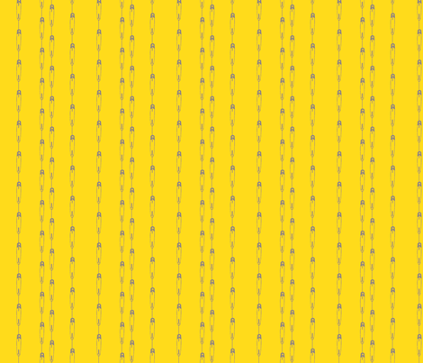 DiaperPinstripes-Yellow fabric by tammikins on Spoonflower - custom fabric