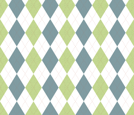 country_road_argyle fabric by christiem on Spoonflower - custom fabric