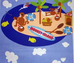 monkey Island / fat quarter