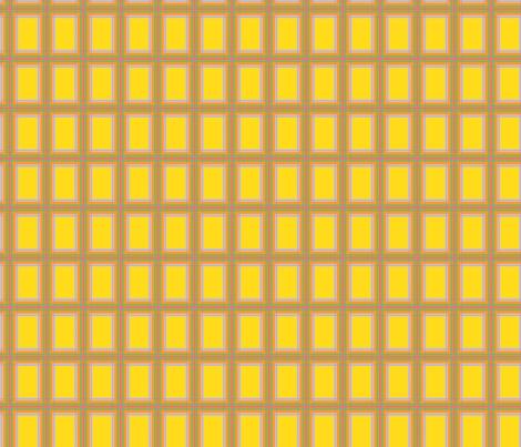 GoGirlPlaid-Yellow fabric by tammikins on Spoonflower - custom fabric