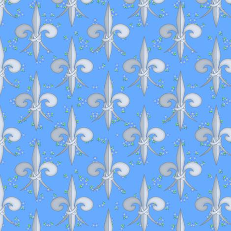 ©2011 fleurdelis 102 fabric by glimmericks on Spoonflower - custom fabric