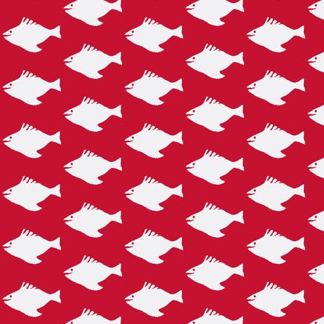 Redfish fabric by boris_thumbkin on Spoonflower - custom fabric