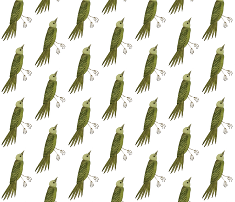 Songbird East  fabric by gollybard on Spoonflower - custom fabric
