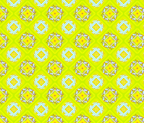 Yella Paisley fabric by joanmclemore on Spoonflower - custom fabric