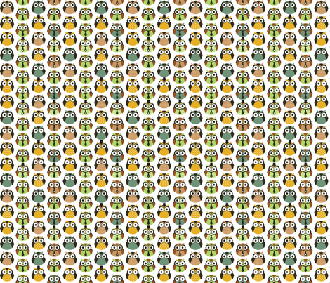Little Gentlemen fabric by m0dm0m on Spoonflower - custom fabric