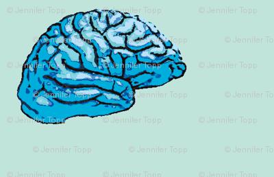 Blue brain pale