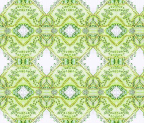 inmygarden fabric by mimi&me on Spoonflower - custom fabric