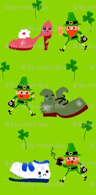 Leprechauns fix shoes!