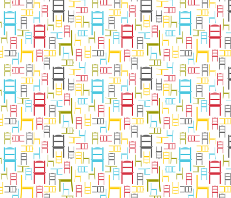 chairs fabric by newmomdesigns on Spoonflower - custom fabric