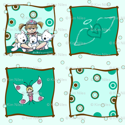 Valicity Westie Tribute Fabric Revised