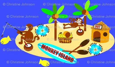 monkey island / fishin