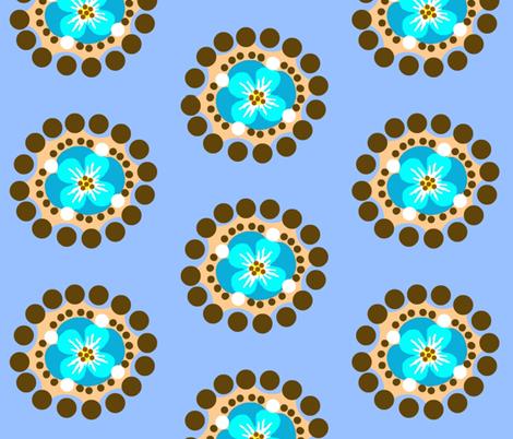 monkey island / bloom fabric by paragonstudios on Spoonflower - custom fabric