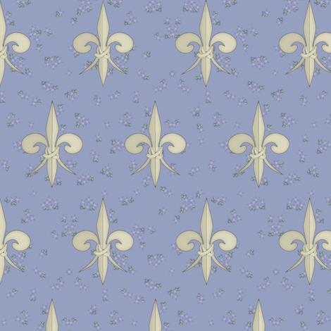 ©2011 fleurdelis 109 fabric by glimmericks on Spoonflower - custom fabric