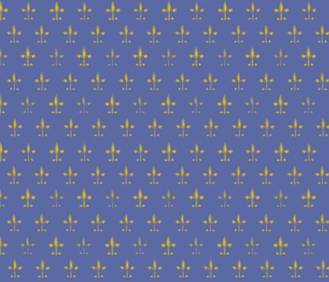 ©2011 fleurdelis 202 fabric by glimmericks on Spoonflower - custom fabric