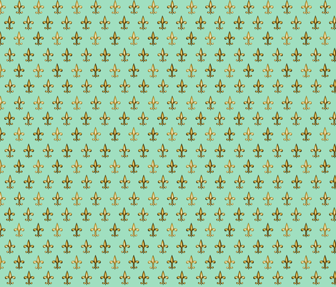 ©2011 fleurdelis 206 fabric by glimmericks on Spoonflower - custom fabric