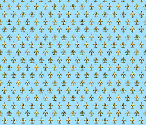 ©2011 fleurdelis 207 fabric by glimmericks on Spoonflower - custom fabric