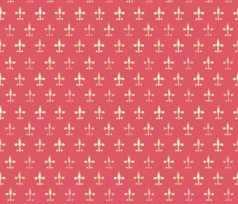 ©2011 fleurdelis 213 fabric by glimmericks on Spoonflower - custom fabric