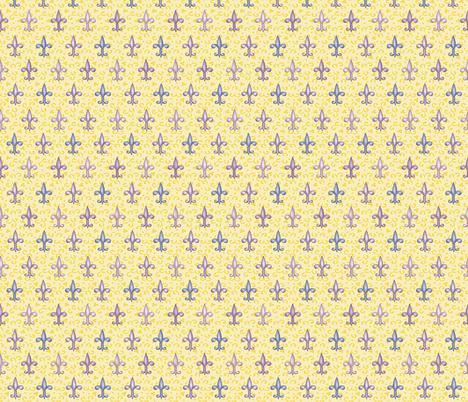 ©2011 fleurdelis 222 fabric by glimmericks on Spoonflower - custom fabric