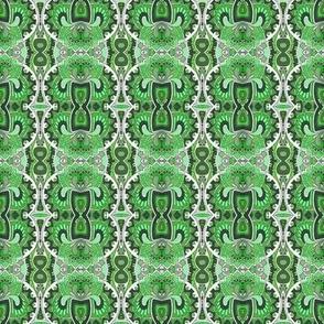 The Roaring Twenties in green