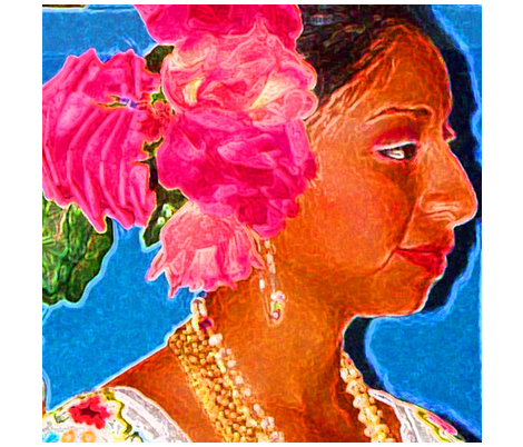 Mayan_Woman fabric by paulamarie on Spoonflower - custom fabric
