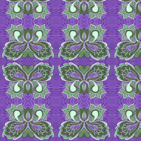 Flutterby Butterfy in purple fabric by edsel2084 on Spoonflower - custom fabric