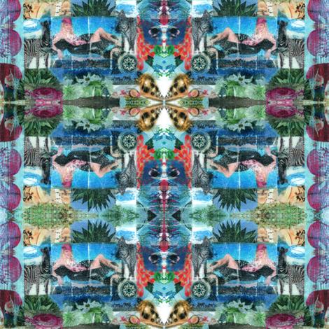 Zebravision fabric by grafinchen on Spoonflower - custom fabric
