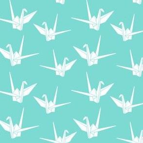 Folded Friends: Aqua