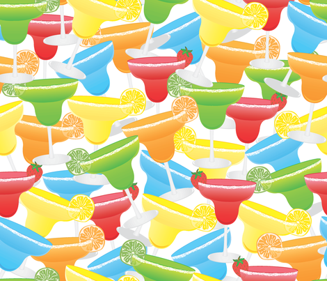 Margarita_Party fabric by illustrative_images on Spoonflower - custom fabric